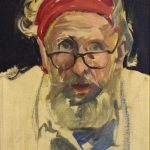 04_Autoportret sa crvenom maramom, 1974